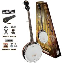 Bryden 5 String Banjo Pack
