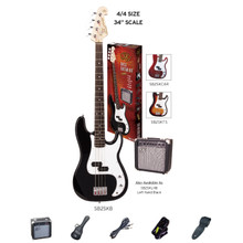 Essex PB Style Bass Guitar & Amp Pack