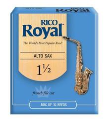 Rico Royal Alto Sax Reeds Size 1.5