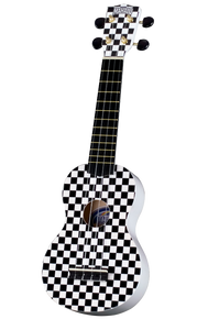 Mahalo Ukulele Art Series - Race Flag