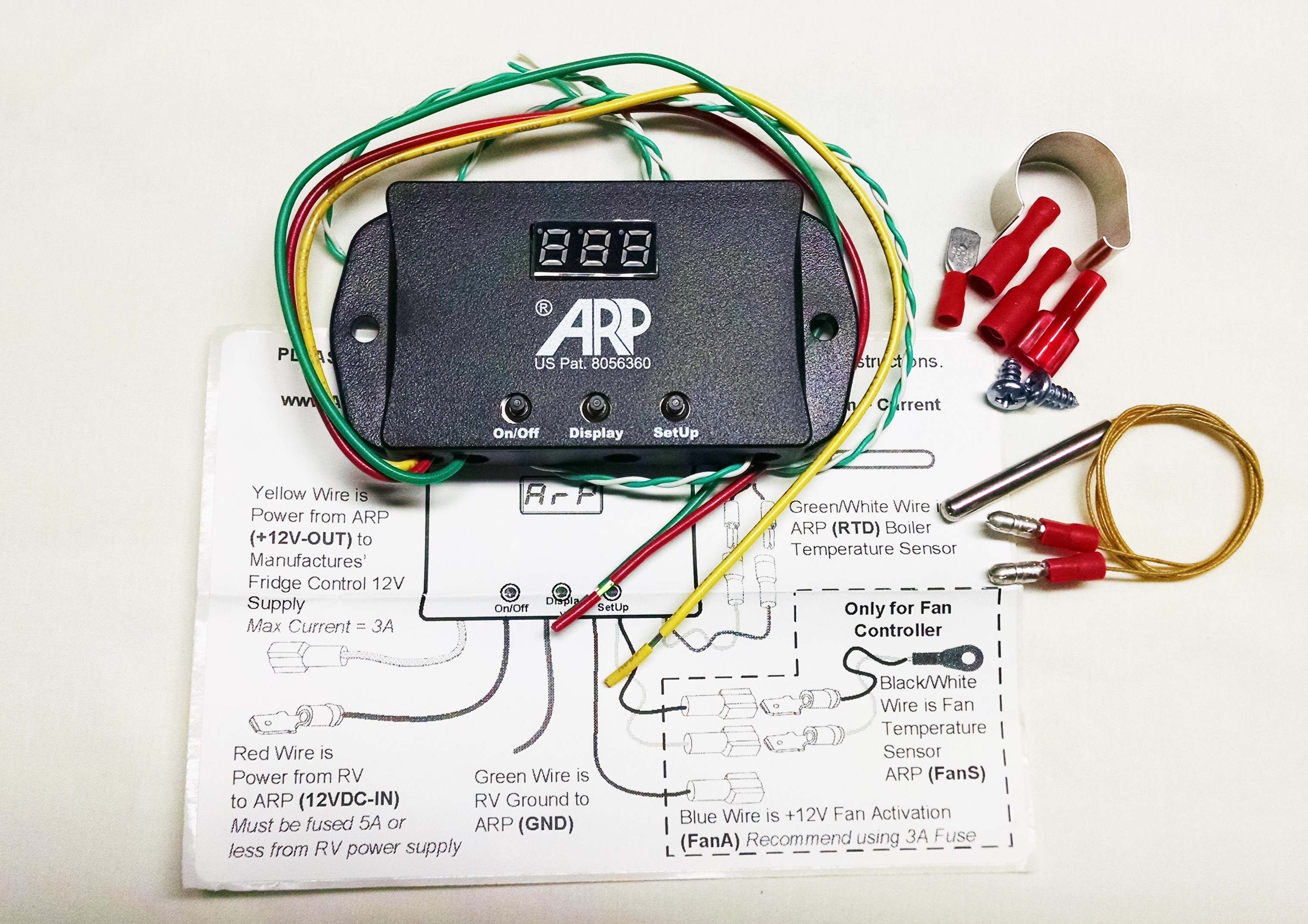 Norcold High Temperature Limit Switch (recall switch) by