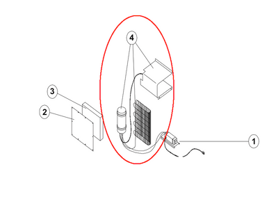 Norcold Cooling Unit 617844 (fits the DE461 models)