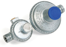 Propane Regulator 59332 Horizontal Mount (w/o shutoff valve)