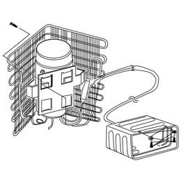 Norcold Cooling Unit 161011310 (fits the DE/DC0051)