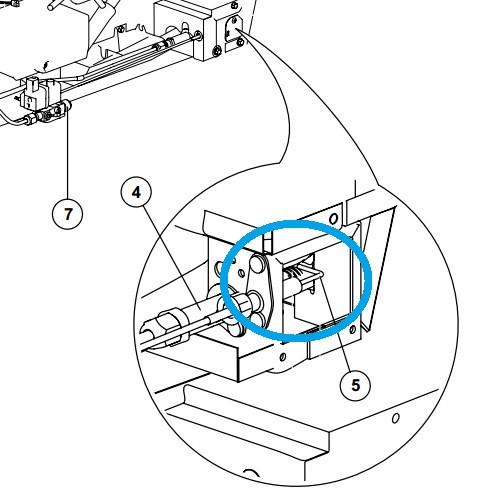 Norcold Spark Sense Electrode 636872 Fits N3104 N3150