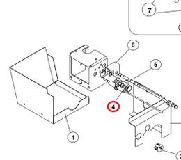 Norcold Spark Sense Electrode 619153 (fits the N300 models)