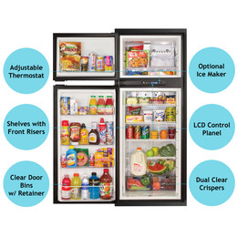 Norcold NA10LX Refrigerator (2 way LP/ AC) 10 cubic ft