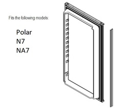 Norcold Lower Door 638532 panel door (fits the N7/ NA7)