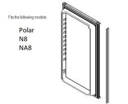Norcold Lower Door 638534 panel door (fits the N8/ NA8)