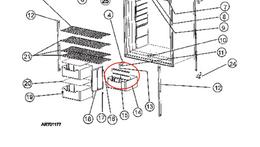 Refrigerator Door Bin Divider; Replacement For Norcold 1200AC/ 1200ACIM/ 1200ACIMBK/ 1200ACIMBKD/ 1200ACIMD/ 1200ACIMSS/ 1200ACIMSSD/ 1200LR/ 1200LRBK/ 1200LRIM/ 1200LRIMBK/ 1200LRIMBKD/ 1200LRIMD/ 1200LRIMSS/ 1200LRIMSSD/ 1200LRIMWH/ 1200LRSS/ 1200LRWH/ 1201LRIM/ 1201LRIMSS/ 1201LRIMSSD/ 1201LRIMWPM Series Refrigerator; Bottle Crisper Divider