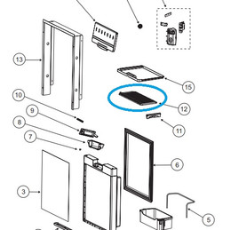 Norcold Refrigerator Shelf 635824 (fits the NR740)