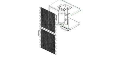 Norcold Cooling Unit 161013500 (fits the DE0061)