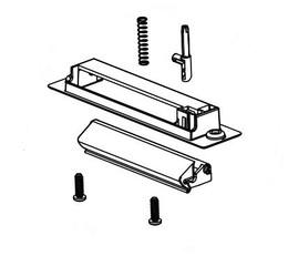 Norcold Door Handle 639506 (fits the N7/ N8/ N10 series) UR/ LL
