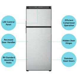 Norcold N10DCSS Refrigerator (DC only) 10 cubic ft