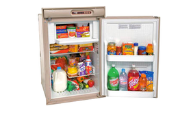 Norcold N410UR Refrigerator (4.5 cubic ft) gas absorption 2-way - BEIGE