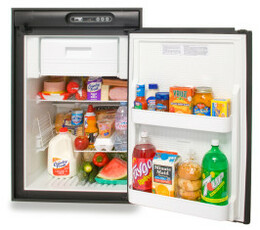 Norcold N412UR Refrigerator (4.5 cubic ft) gas absorption 2-way - BLACK