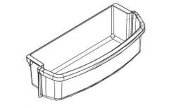 Norcold Door Bin 636747 (fits the 2118 model)