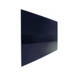 Norcold Upper Door Panel 629758 (fits the 1210 model) black acrylic