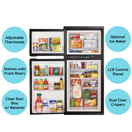 Norcold NA8LX3 Refrigerator (3 way LP/ AC/ DC) 8 cubic ft