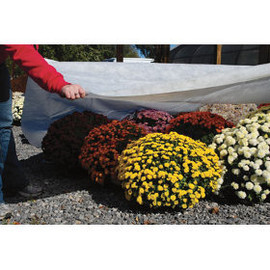 Protect your plants when the frost comes with this Dewitt 1.5 oz N-Sulate Frost Cover-12-foot x 500-foot (#NS12500)