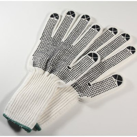 Get a grip with these long cuff string knit nylon gloves from FGS!