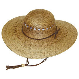 Cut back on the sunscreen and protect your face directly with this Tula Ranch Lattice Women's Gardening Hat.