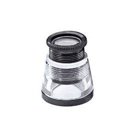Maintain an accurate focusing distance with this 12X Shot Glass Style Hand Lens Triplet