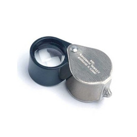 Get up real close with this Hastings 10X Loupe Style Folding Hand Lens-Triplet (#816171)
