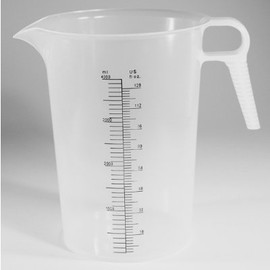 Accu Pour Chemical Measuring Container 128 Ounce 4 Liter