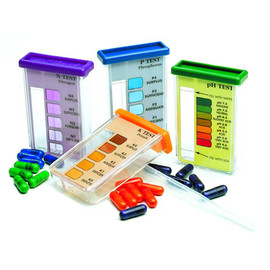 Know exactly what's going on in your garden when you use this Rapitest soil testing kit. (#1601)