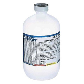 Always know your salinity with this Oakton high-range conductivity solution. (-12,880 µS-1 pint) (#WD-00606-10)