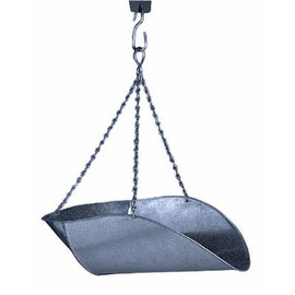 Get the perfect amount every time when you use this galvanized steel hanging scale scoop. (T50)