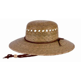 This women's hat is a great way to garden and keep the sun off of you all day. You'll love this Tula Rockport lattice gardening hat! (S1205)