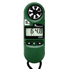 Grab this weather meter and always be in the know. Try this Kestrel 2000 Pocket Weather Meter today!
