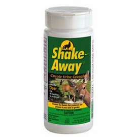 Don't give up on a garden just because there are animals eating your plants. Chase them away with Shake Away Coyote Urine Animal Repellent.