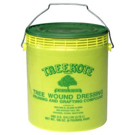 After a trimming, make sure your tree doesn't suffer infection with this TreeKote Tree Wound Dressing (1 gallon paste)