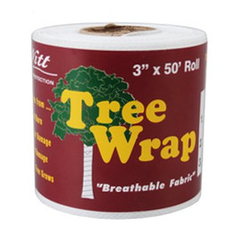 Make sure the saplings make it with this Dewitt 3-Inch x 50-Foot tree wrap. (#TW3W)