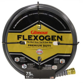 "Get the best hose around with the Gilmour Flexogen 8-Ply garden hose (5/8"" x 50 Ft) (#10-58050)"