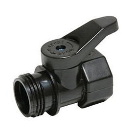 Take control of your water with this Dramm garden hose shut-off valve (#45)