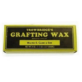 Excellent for tree branch grafting, this pound of Trowbridge grafting wax really works.