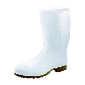 When you want to keep your feet pesticide-free, use these Servus CT 12-Inch Plain Toe White PVC boots