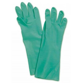 These extra-thick disposable gloves are perfect for planting and spraying. Try a 12-pack of North NitriGuard Plus 15-mill chemical Resistant nitrile gloves today.