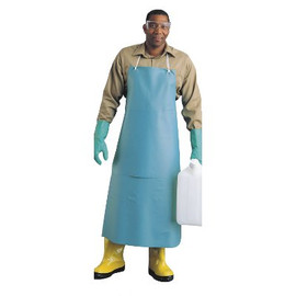 If you know all of the gunk will be hitting the front, these heavy-duty 20-Mill PVC chemical resistant vinyl protective aprons are right for you.