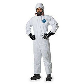 Keep yourself safe during spraying seasons with the DuPont Tyvek coverall hooded spray suits.