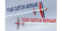 Your Custom Message Your Custom Message sky writer banner