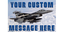 Your Custom Message Here with arctic jet