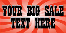 Your Big Sale Text Here banner