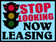 Stop Looking Now Leasing coroplast sign