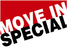 Move In Speical coroplast sign