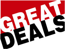 Great Deals coroplast sign